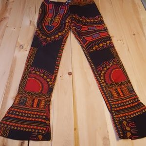 Dolce and Gabbana funky flared pants